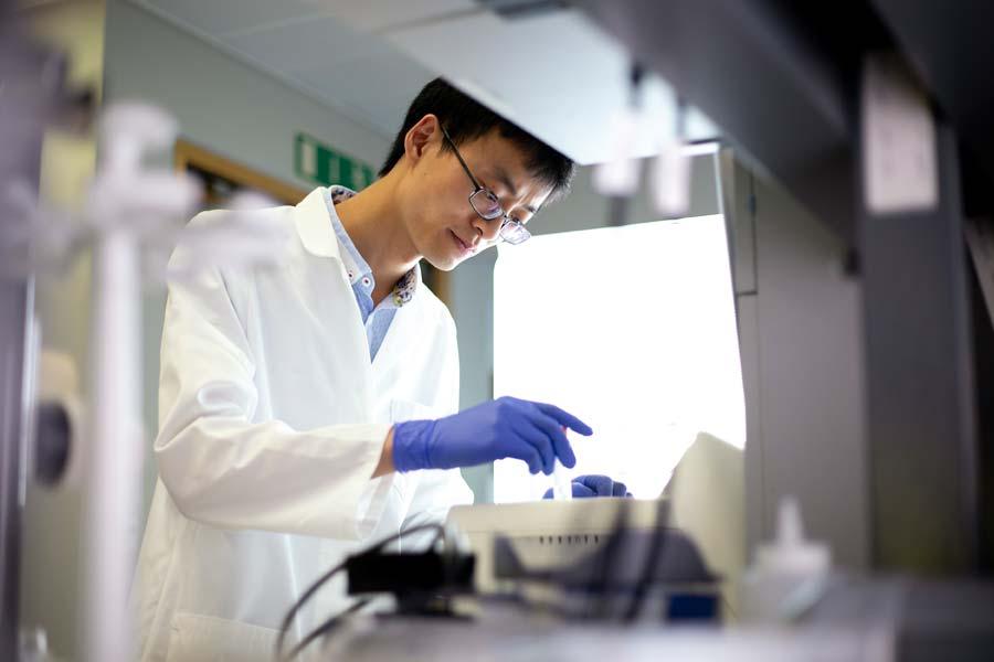 Skin Microbiome Scientist Lab